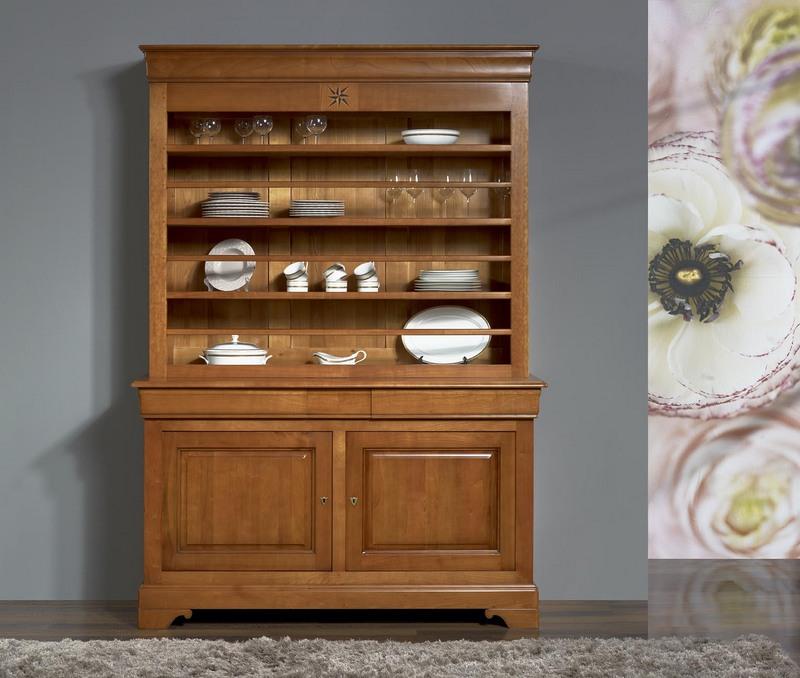 Meuble merisier moderne latest meuble vitrine en merisier for Meuble merisier