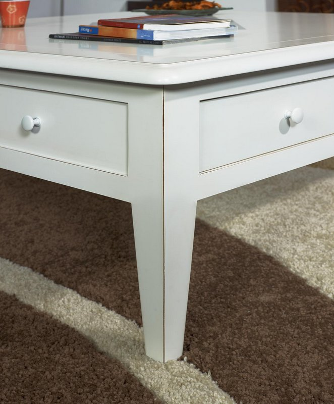 table basse 100x100 iris en merisier de style directoire. Black Bedroom Furniture Sets. Home Design Ideas