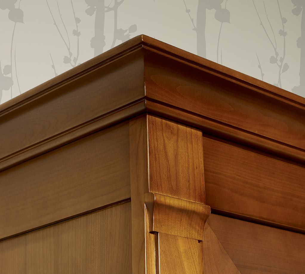 bonneti re 1 porte 1 tiroir de style directoire en merisier massif meuble en merisier. Black Bedroom Furniture Sets. Home Design Ideas