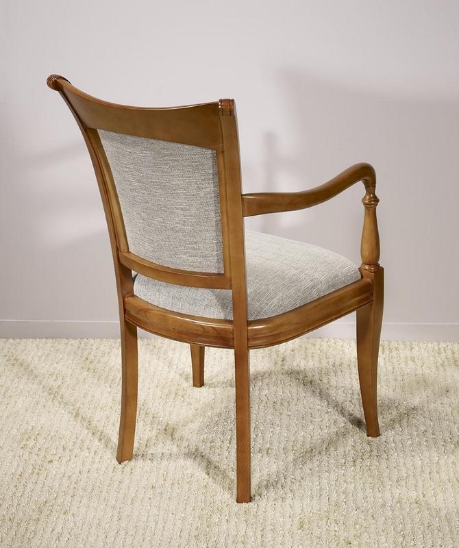 Fauteuil ine en Merisier Massif de style Louis Philippe , meuble ...