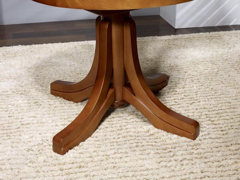 Fauteuil de bureau emilio en hêtre massif tournant assise tissu d