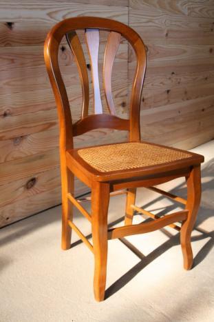 chaise de style louis philippe cann e meuble en merisier. Black Bedroom Furniture Sets. Home Design Ideas