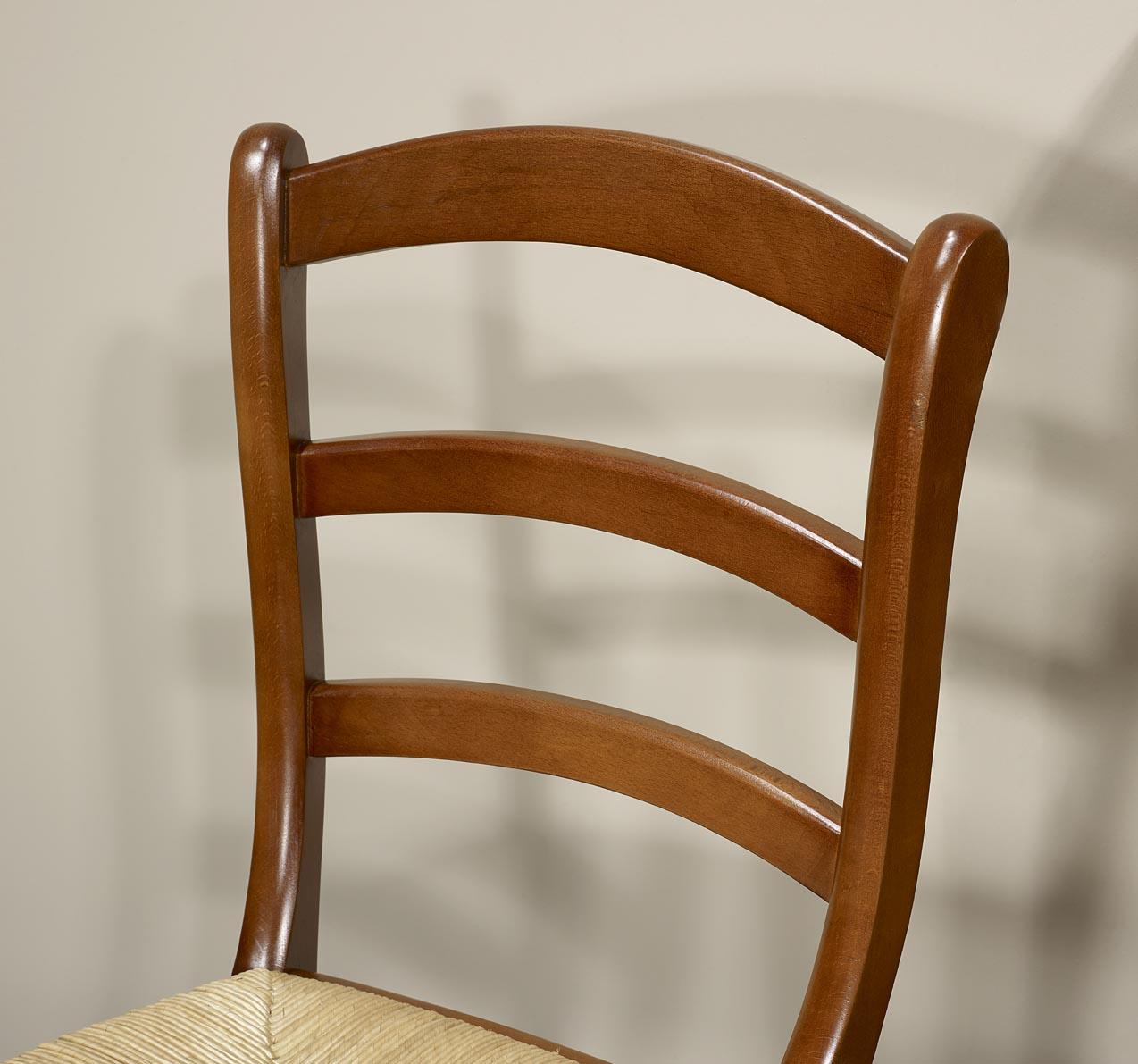 Chaise en h tre massif de style louis philippe meuble en for Chaise louis philippe ancienne