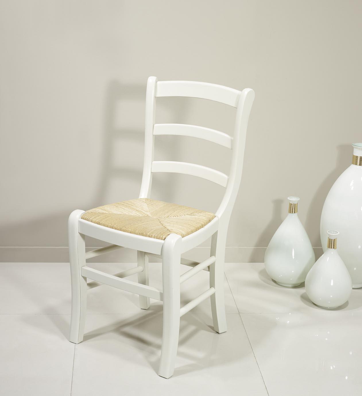 Lot de 4 chaises en h tre massif de style louis philippe finition ivoire me - Chaise en hetre massif ...