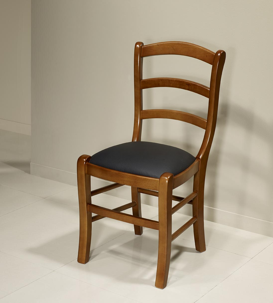 Chaise Madeleine En Htre Massif De Style Louis Philippe