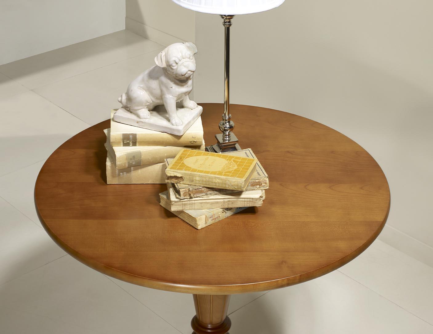 gu ridon bertille en merisier de style louis philippe diam tre 80 cm meuble en merisier. Black Bedroom Furniture Sets. Home Design Ideas