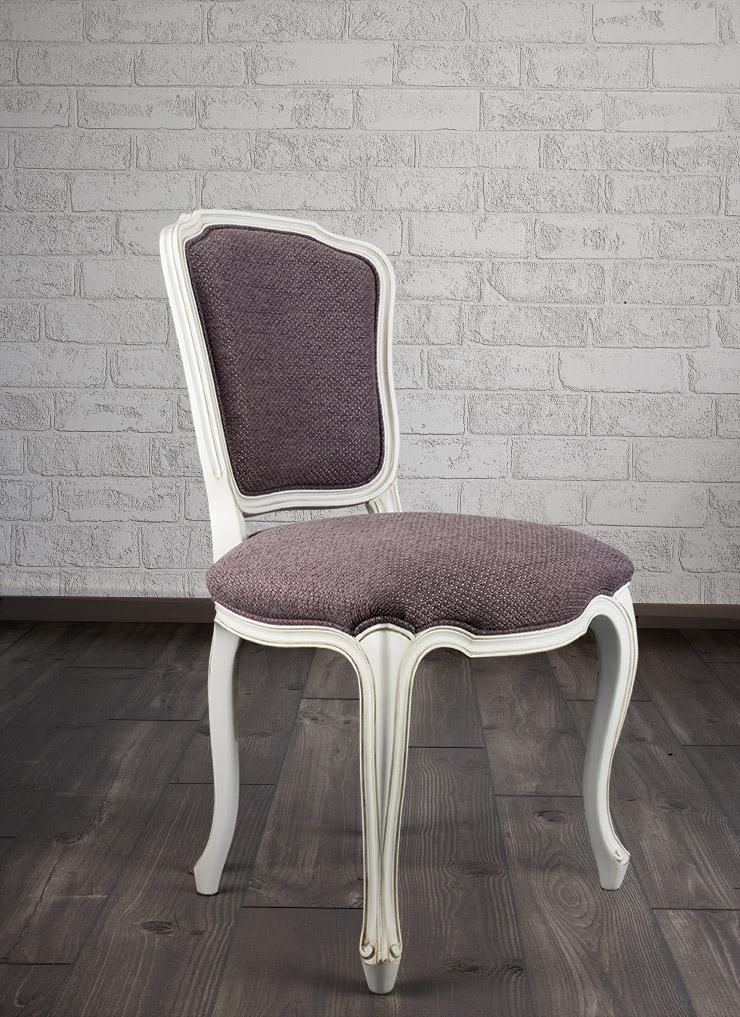 chaise mila en merisier de style louis xv meuble en merisier. Black Bedroom Furniture Sets. Home Design Ideas