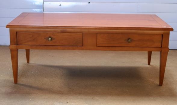 Table basse en merisier de style directoire destockage 1 - Destockage table basse ...