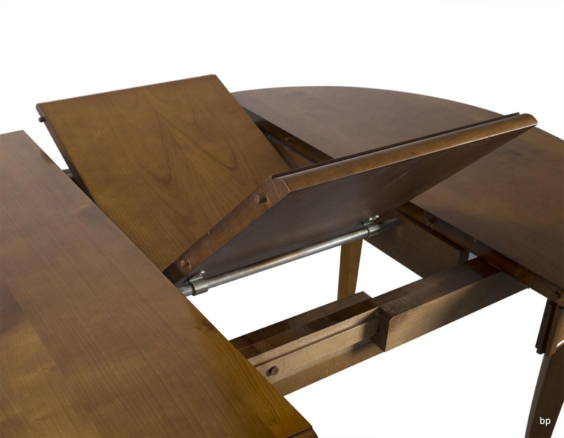 table ronde 4 pieds en merisier massif de style louis philippe diam tre 100 cm meuble en merisier. Black Bedroom Furniture Sets. Home Design Ideas