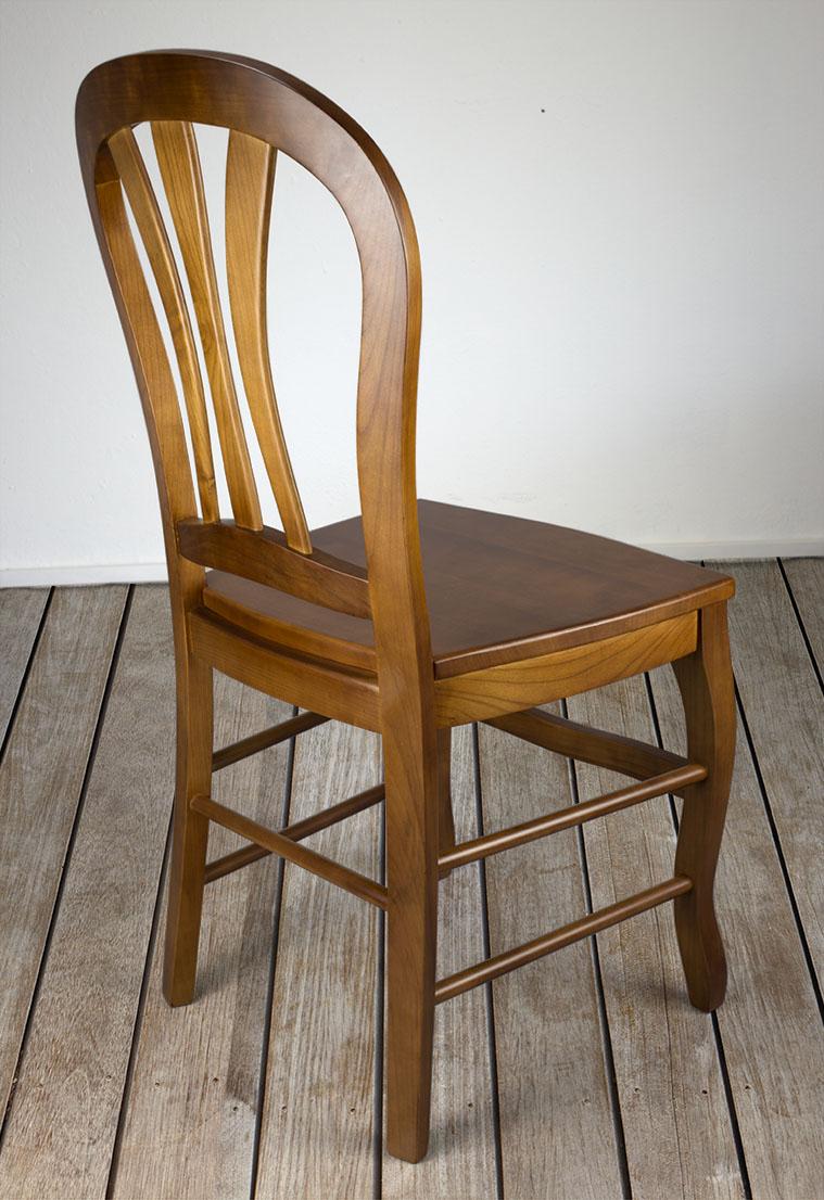 chaise alice de style louis philippe en merisier massif assise bois meuble en merisier. Black Bedroom Furniture Sets. Home Design Ideas