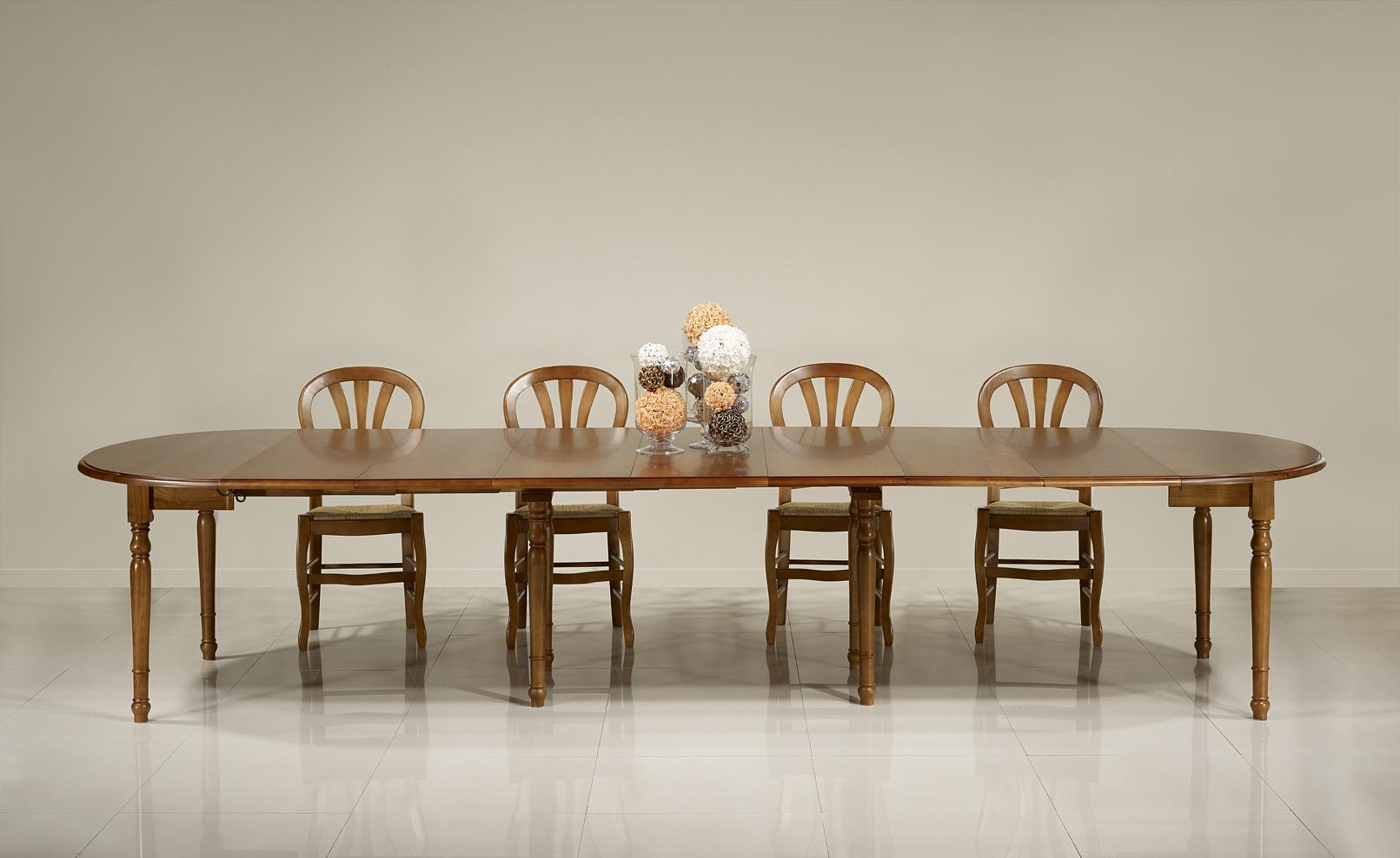 table ronde volets diametre 120 en merisier massif de style louis philippe 7 allonges de 40 cm. Black Bedroom Furniture Sets. Home Design Ideas