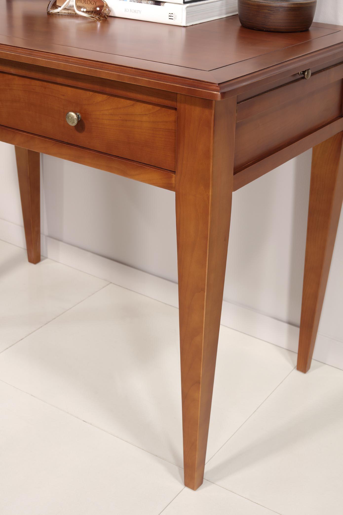 table d 39 ecriture en merisier de style louis philippe meuble en merisier. Black Bedroom Furniture Sets. Home Design Ideas