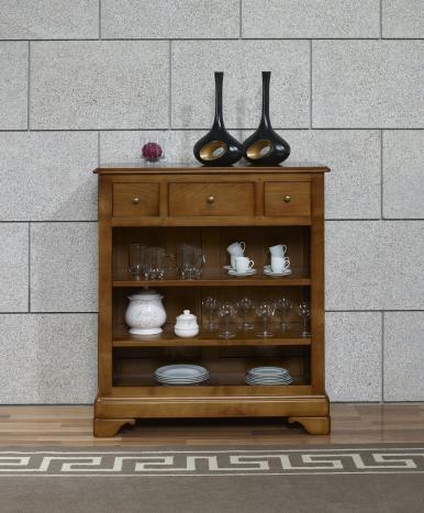 Bibus en merisier massif de style louis philippe meuble - Meuble merisier massif louis philippe ...