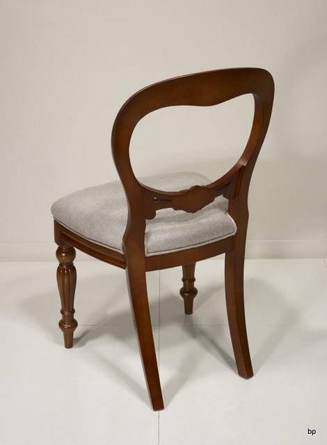Sculptée Chaise Style Louis Merisier Main Marion De En Massif 1uFcT3JlK