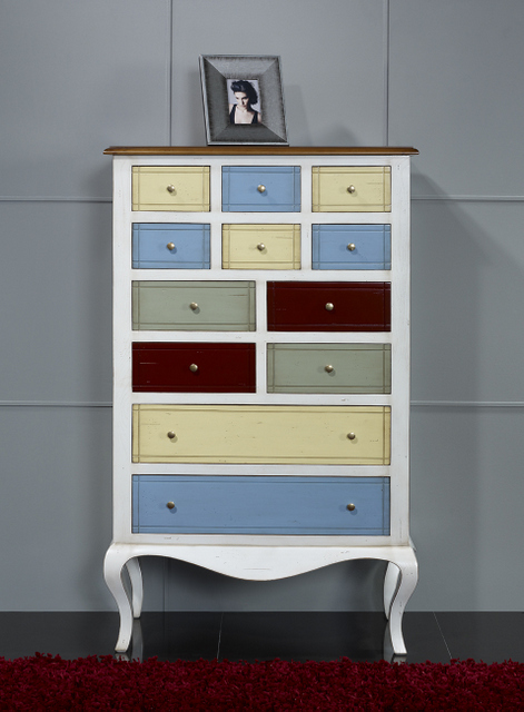 commode ou meuble d 39 entr e delphine en merisier et chataignier multicolore meuble en merisier. Black Bedroom Furniture Sets. Home Design Ideas