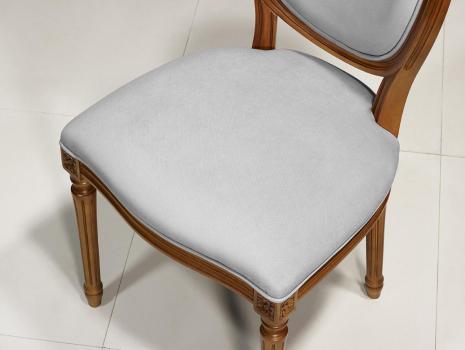chaise emeline en merisier massif de style louis xvi meuble en merisier. Black Bedroom Furniture Sets. Home Design Ideas