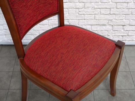 Chaise ine en merisier massif de style louis philippe meuble en merisier - Chaise merisier louis philippe ...
